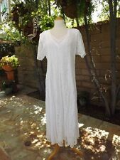 VINTAGE 80'S LACE STEVIE NICKS DRESS......Summer Beach Wedding Flowing Maxi S-L