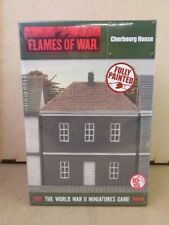 Flames of War Battlefield in a Box BNIB European House - Cherbourg BB156