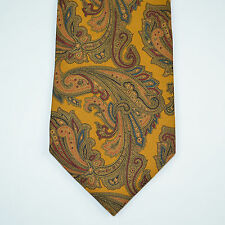 BROOKS BROTHERS Vintage Paisley 100% Silk Neck Tie