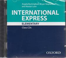 Oxford INTERNATIONAL EXPRESS 3rd Ed Elementary CLASS CDs I STEPHENS @New &Sealed