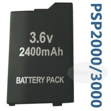 battery for PSP SLIM & LITE PSP 2000 PSP 2004 PSP 3000 PSP 3004 2400 MAH