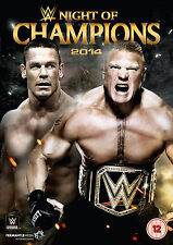 WWE Night Of Champions 2014 DVD REGION CODE 2 NEU