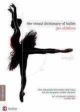 VISUAL DICTIONARY OF BALLET FOR CHILDREN NEW EXERCISE DVD