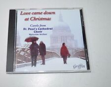 Love Came Down at Christmas Carols From St Paul's Cathedral Choir CD