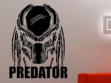 Predator Wall Decal Superhero Vinyl Sticker Movie Art Home Bedroom Decor 5prmz