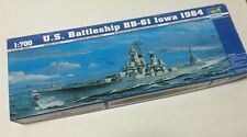Trumpeter 1/700 05701 US Battleship BB-61 Iowa 1984