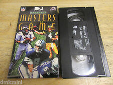 1998 NFL Masters Of The Game, Presented by Directv, VHS Video Tape