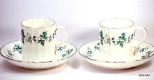 Royal Worcester Bone China CHAPEL HILL Demitasse / Espresso Cup and Saucer