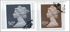 2013  - New High Value definitives. New colours and year code - VFU s/a Stamps