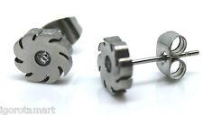 Men Women Surgical steel stud earrings Standard Ear Studs Piercing -Choose Style