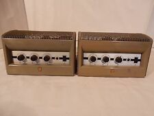 Pair of Philips EL6400 tube amplifiers checked and Working