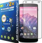 2x Anti-Glare Matte LCD Screen Protector Guard Film LG Google Nexus 5 D820 D821