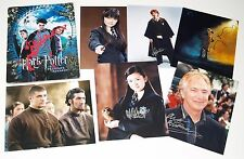 Genuine 26 HARRY POTTER Signatures Hand Signed Photo Autograph Emma Thompson