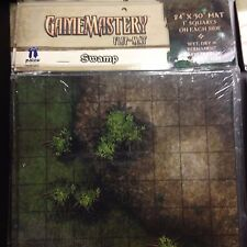 Paizo GameMastery Flip-Mat - Swamp OOP New in Pack Pathfinder D&D Dungeons