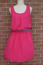 Women's City Triangles Fuchsia Party/Sundress Cut out Back Size L New with tags!