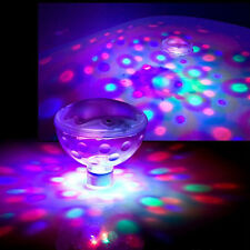 LED Underwater Floating Lamp Disco Party Light Show Pool Pond Spa Tub Bulb 5Mode