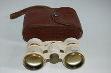 Theater Glasses / Binoculars. Made In The USSR / CCCP. Case. Good Condition. #2