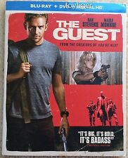 The Guest Blu-ray disc only w/ case artwork & slipcover *NO DVD NO DIGITAL COPY*