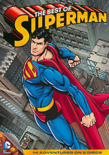 The Best of Superman (DVD) SHIPS NEXT DAY 14 Adventures on 2 Discs Man of Steel