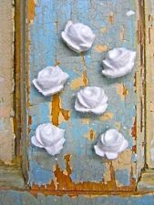SHABBY n CHIC BABY ROSES (6) * FURNITURE APPLIQUES !