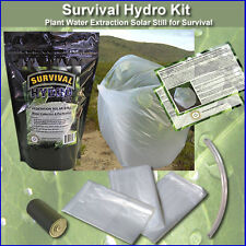 Hydro Kit - Survival & Emergency Plant Water Extraction Solar Still Kit