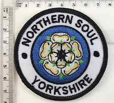 NORTHERN SOUL - YORKSHIRE - IRON SEW ON PATCH - 75mm Dia - No-63