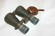 Rare German Military WWI Binoculars Carl Zeiss Jena Dienstglas Model 08, Nr.9426