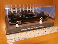 LINCOLN CONTINENTAL 1:43 GOLDFINGER JAMES BOND 007 CAR