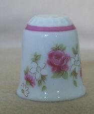 Floral Medley Reutter Porzellan (Porcelain) Thimble - TCC