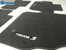 Mazda 3 2010-2013 New OEM black carpeted floor mats 0000-8B-L65