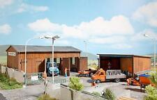 Busch Highways Maintenance Depot Kit 1456 HO Scale (suit OO also)