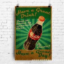Fallout 4 Nuka beer poster quality printing 40x60cm Throwback style #3