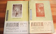 12 Issues Vintage Aviculture Magazine Aviary Birds 1941 & 1943