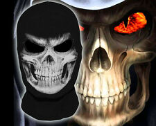 New The Grim Reaper Scary Cosplay Costume  Balaclava Halloween Full Face Mask