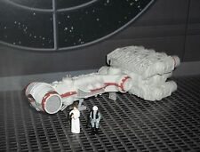 STAR WARS ACTION FLEET REBEL BLOCKADE RUNNER  W/   2 MINI FIGURES