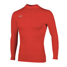 Umbro Base Layer Long Sleeved LS Top T Shirt Thermal Compression Skins Small S