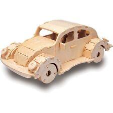 VW Beetle Woodcraft Construcción Kit-Coche de Madera Modelo Juego Juguete Rompecabezas De Construcción