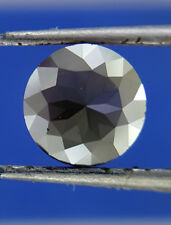 0.47Ct 5.5 MM Round Rose cut Jet Black AAA Color African Natural Loose Diamond
