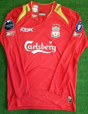 Liverpool FC home jersey 2005/2006 Champions League shirt S M L XL