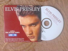 Elvis Presley The Sunday Times