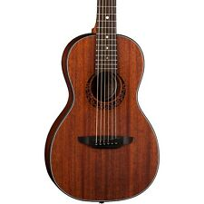 Luna Guitars Gypsy Parlor Mahogany Acoustic Guitar Natural LN