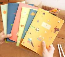 Soft manuscripts Notebook Fashion Little girl Cute cat Korean style A5 Notepad