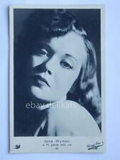 ELAH Warner Bros. JANE WYMAN cinema vecchia cartolina old post card