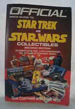 Vintage The Official Price Guide to Star Trek and Star Wars Collectibles 1987