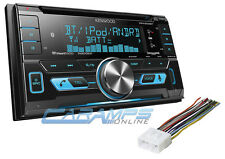 NEW KENWOOD CAR STEREO RADIO WITH BLUETOOTH & AUX & USB INPUTS WITH SIRIUS XM
