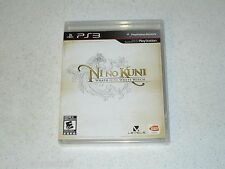 """Ni No Kuni Wrath Of The White Witch  """"Black Label"""" Sealed PS3 FREE SHIPPING"""
