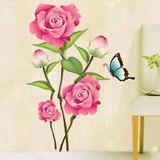 Flower DIY Art Wall Decal Decor Room Stickers Vinyl Removable Paper Mural Home