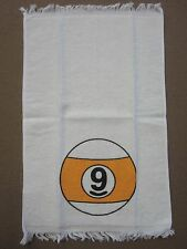 9-Ball Pool Billiards Hand Towel w/ FREE Shipping