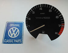 VW MK2 Golf GTI 16V - Genuine OEM - MotoMeter 7.2K Rev Counter - CE1 Early Type