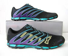 NWB Inov-8 F-Lite 195 Sneaker Men's Size 10.5, Women's Size 12 Black/Teal/Grape